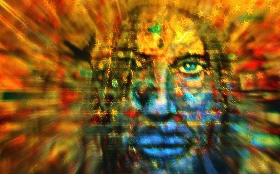 Jesus Under the Rainbow by William Rockwell