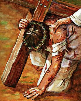 Jesus Falls by Dorothy Riley