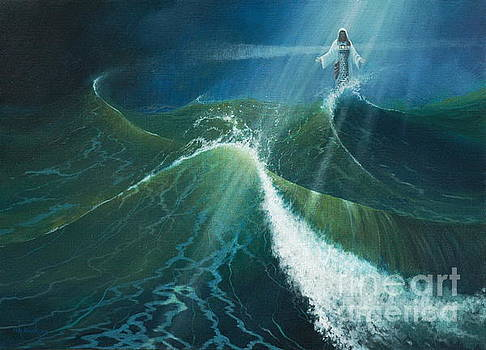 Jesus is the Lighthouse by Michael Nowak