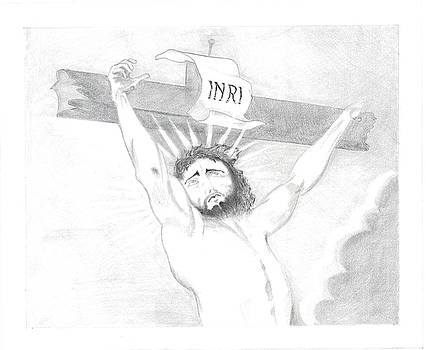Jesus On The Cross by Bernardo Capicotto