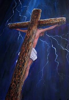 Jesus on the Cross by Judy Groves