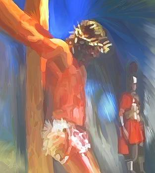 Jesus On The Cross by Susanna Katherine