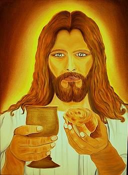 Xafira Mendonsa - Jesus the Bread and Wine