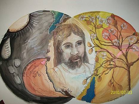 Jesus vs good and evil by Carolyn Sylvester