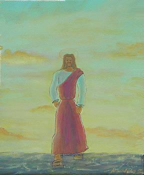 Jesus Walks by James Violett II