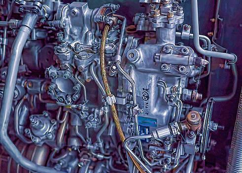 Jet Engine Detail by Kevin Garrett