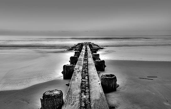 Jetty at Dawn by Ginny Horton