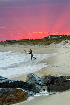 Jetty Four Fisherman by Robert Seifert
