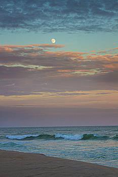 Jetty Four Moonrise by Robert Seifert