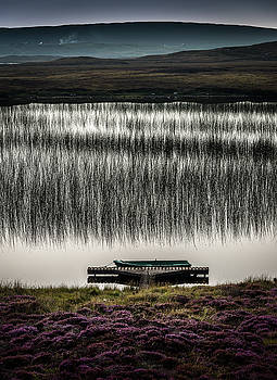 Jetty, Loch na Maracha, Isle of Harris by Peter OReilly