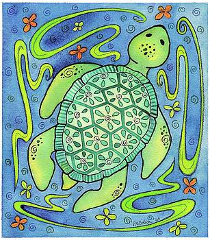 Jewel Sea Turtle by Rachel Cotton