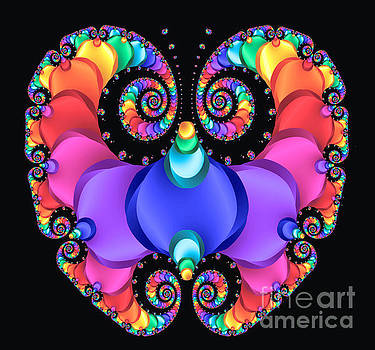 Jeweled Butterfly by C Branch