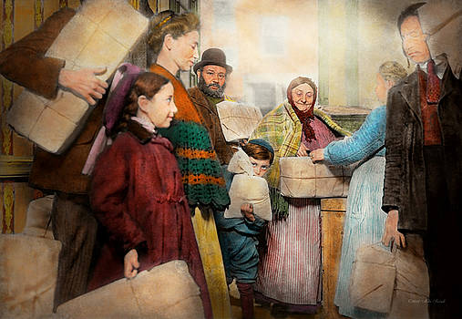 Mike Savad - Jewish - Food for the less fortunate 1908