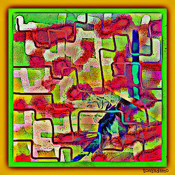 Jigsaw Somewhere On Those Streets by Tony Adamo