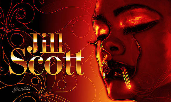 Jill Scott by Kia Kelliebrew