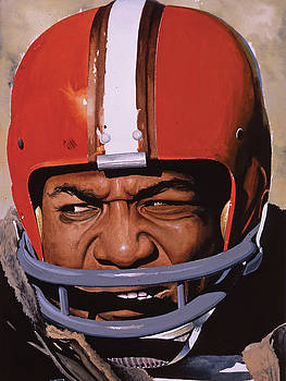 Jim Brown by Rich Marks