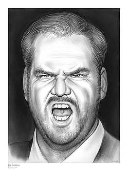 Jim Gaffigan by Greg Joens