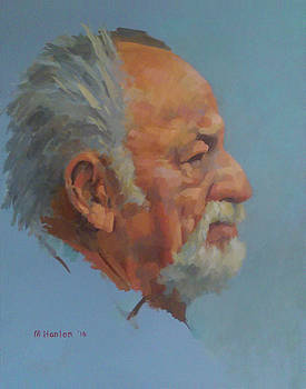 Jim Harrison by Mike Hanlon