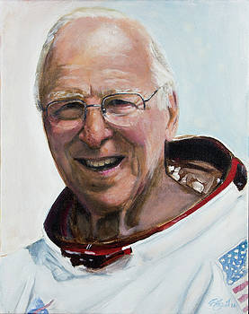 Jim Lovell by Simon Kregar