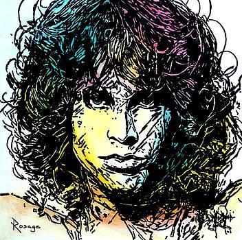 Jim Morrison by Bernie Rosage Jr