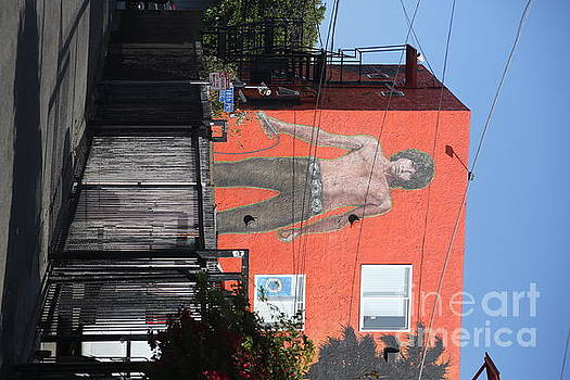 Chuck Kuhn - Jim Morrison Graffiti