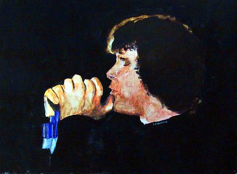 Jim Morrison by Ron Enderland