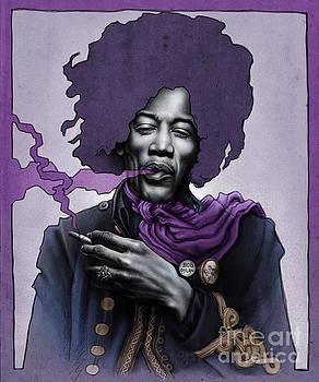 Jimi Hendrix by Andre Koekemoer