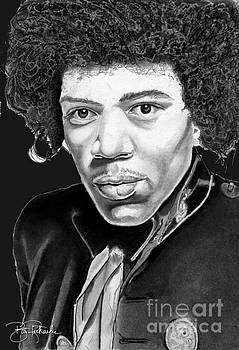 Jimi Hendrix by Bill Richards