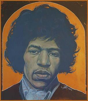 Jimi Hendrix by Jovana Kolic