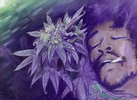 Jimi Hendrix by Raymond L Warfield jr