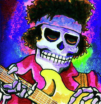 Jimi Hendrix, Soloing by Miko At The Love Art Shop