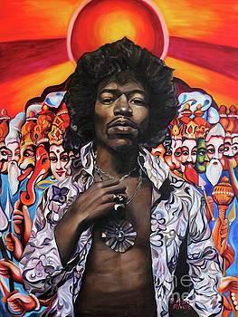 Jimi Transcendence by Barbara Rivera