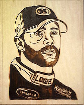 Jimmie Johnson No 48 NASCAR by Timothy Wilkerson