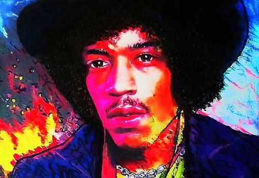 Jimmy Hendrix by Mandy Thomas