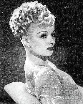 John Springfield - Joan Bennett, Vintage Actress by JS