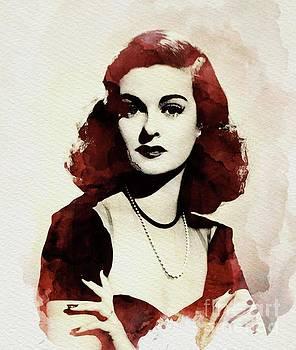 John Springfield - Joan Bennett, Vintage Actress
