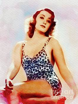 John Springfield - Joan Blondell, Vintage Movie Star and Pinup