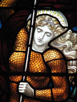 Joan Of Arc  by David Hinchen