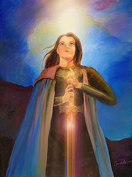 Joan of Arc  by Lucinda Rae