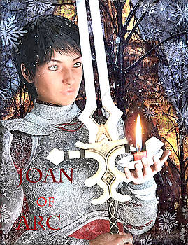 Joan of Arc Poster 2 by Suzanne Silvir