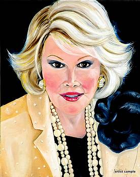 Joan Rivers by Gwendolyn Frazier