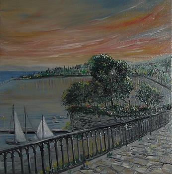 Joanna's Garitsa Bay by Anna Witkowska