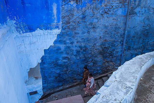 Jodhpur Blue by Marji Lang