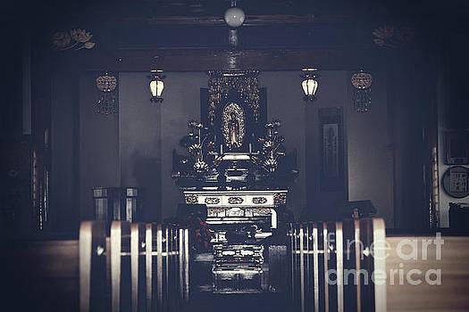 Jodo Shu Chion-in Japanese style Temple Lahaina Maui Hawaii by Sharon Mau