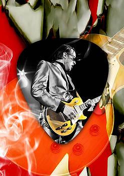 Joe Bonamassa Blues Guitar Art by Marvin Blaine