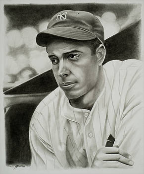 Joe Dimaggio by Don Medina