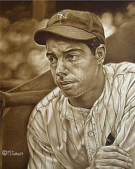 Joe Dimaggio by Mark Turnes