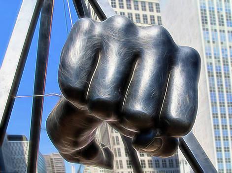 Joe Louis Fist by Karen Varnas