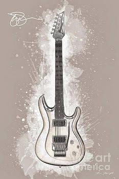 Joe Satriani Guitar by Tim Wemple