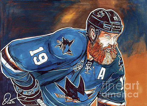 Joe Thornton by Dave Olsen